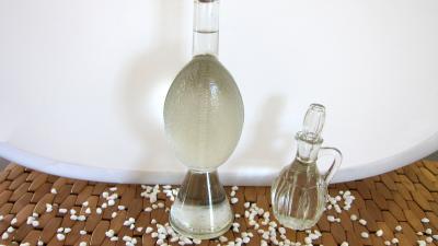Image : Bouteilles de sirop de sucre