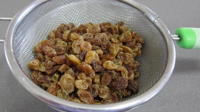 Gâteau de semoule au coulis de framboises - 1.3