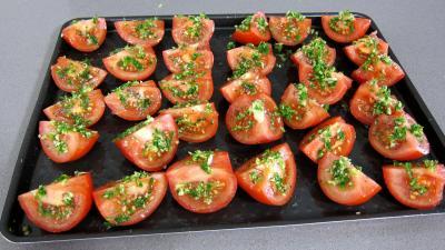 Recette Antipastis à la tomate