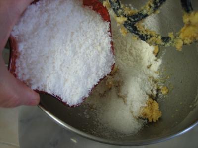 Cookies à la noix de coco - 3.1
