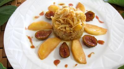 Compotée de chou aux figues et aux pommes - 9.3
